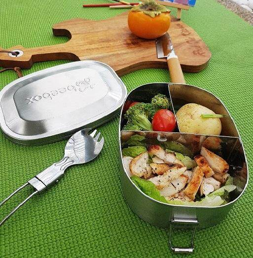 Beebox Classic THREE Stainless Steel Bento Lunch Box Classic Series