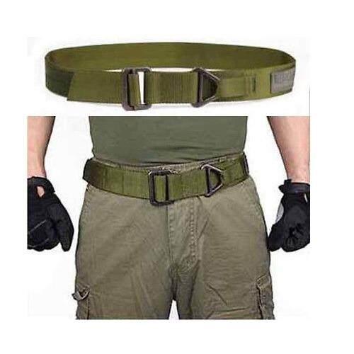 Men Adjustable Rescue Survival Tactical Belt