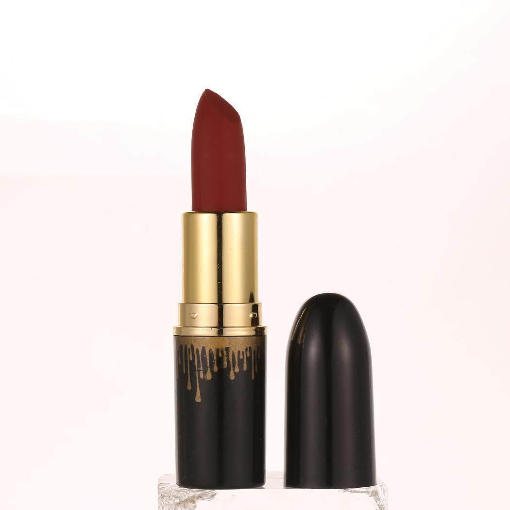 Azone Kosmetik Makeup Matte Tahan Lama Gaya Antik Lembut Krim Bibir Lipstick Lip Gloss-Intl