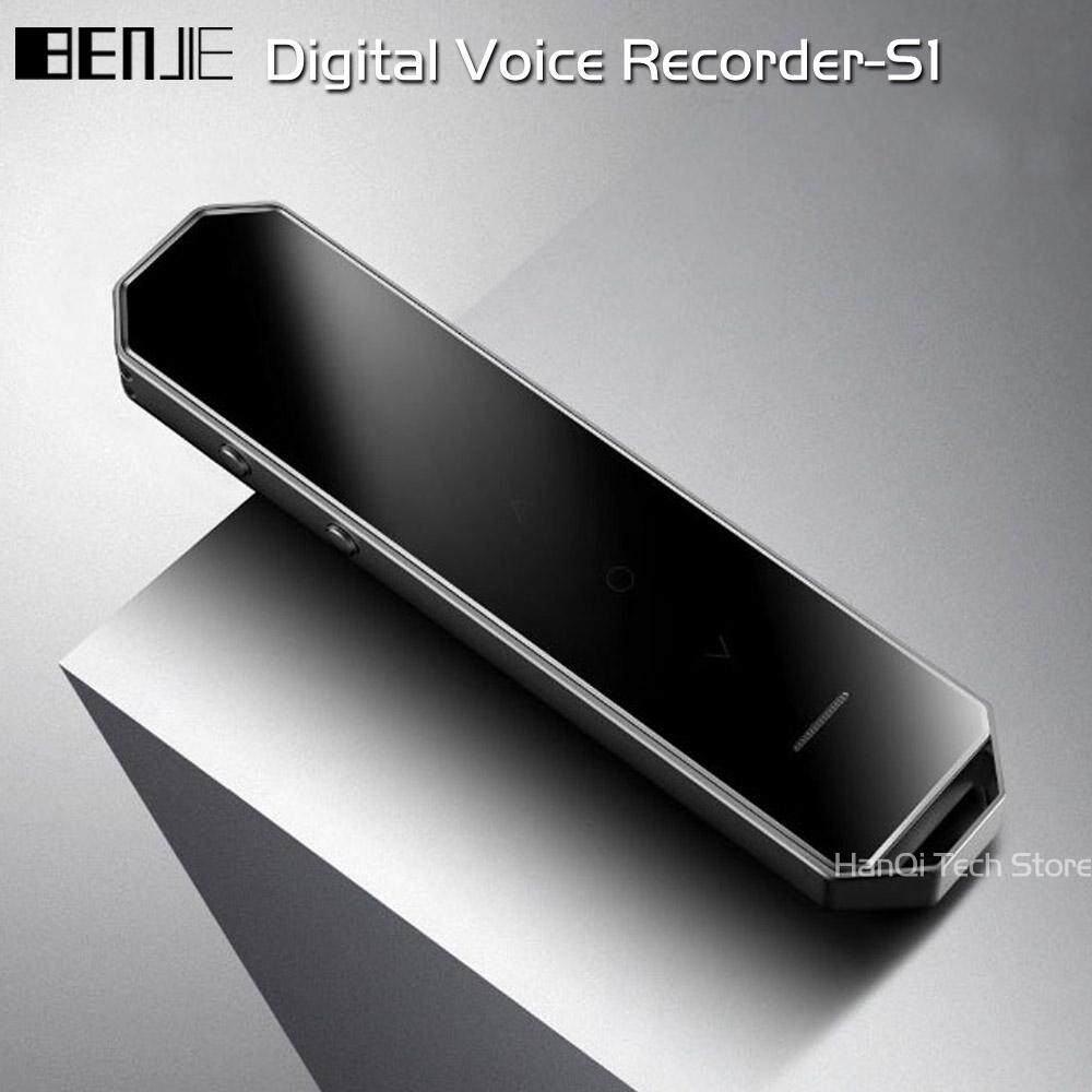 BENJIE S1 Digital Voice Recorder Long Time Recording 8G Professional Dictaphone Mini MP3 Music Player With