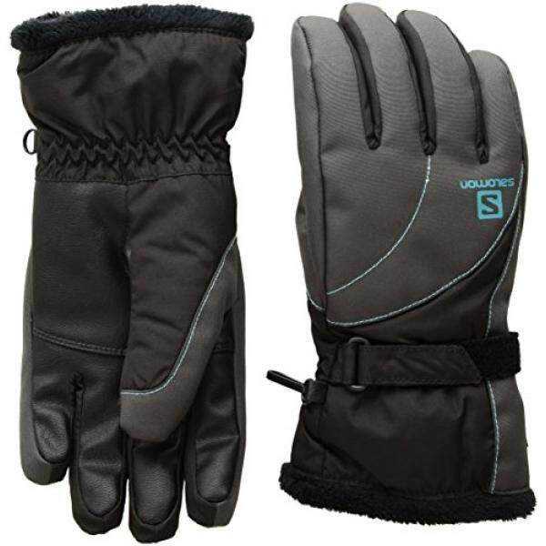 Salomon Womens Force GTX Gloves, Forged Iron, Medium - intl