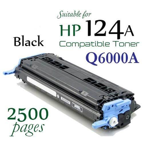 HP 124A Black Q6000A / Q6000 Compatible Toner Cartridge For HP LaserJet 1600 / 2600n / 2605dn / 2605dtn / CM1015 / CM1017 Printer Toner