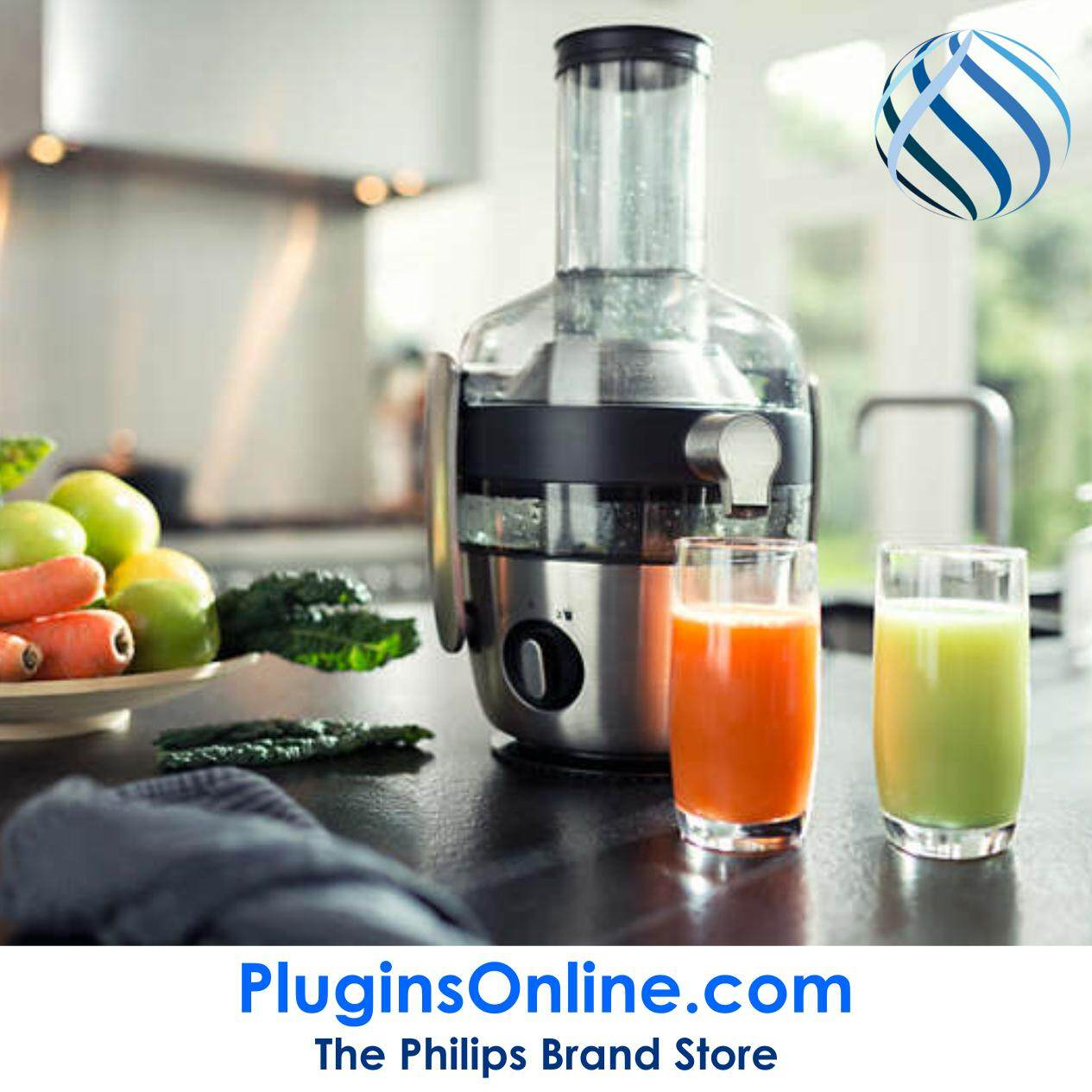 Philips HR1922/21 Avance Juicer Stainless Steel 12w (HR1922)