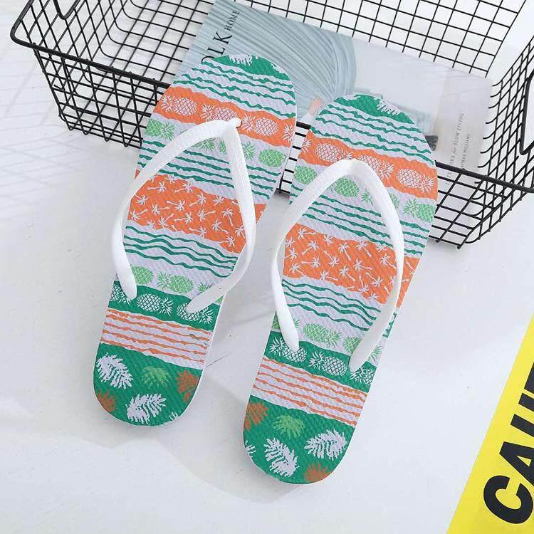 RHS Online Pria Anak Laki-laki Musim Panas Pantai Laut Santai Jepit Sepatu Sandal Sandal untuk Pria-Internasional