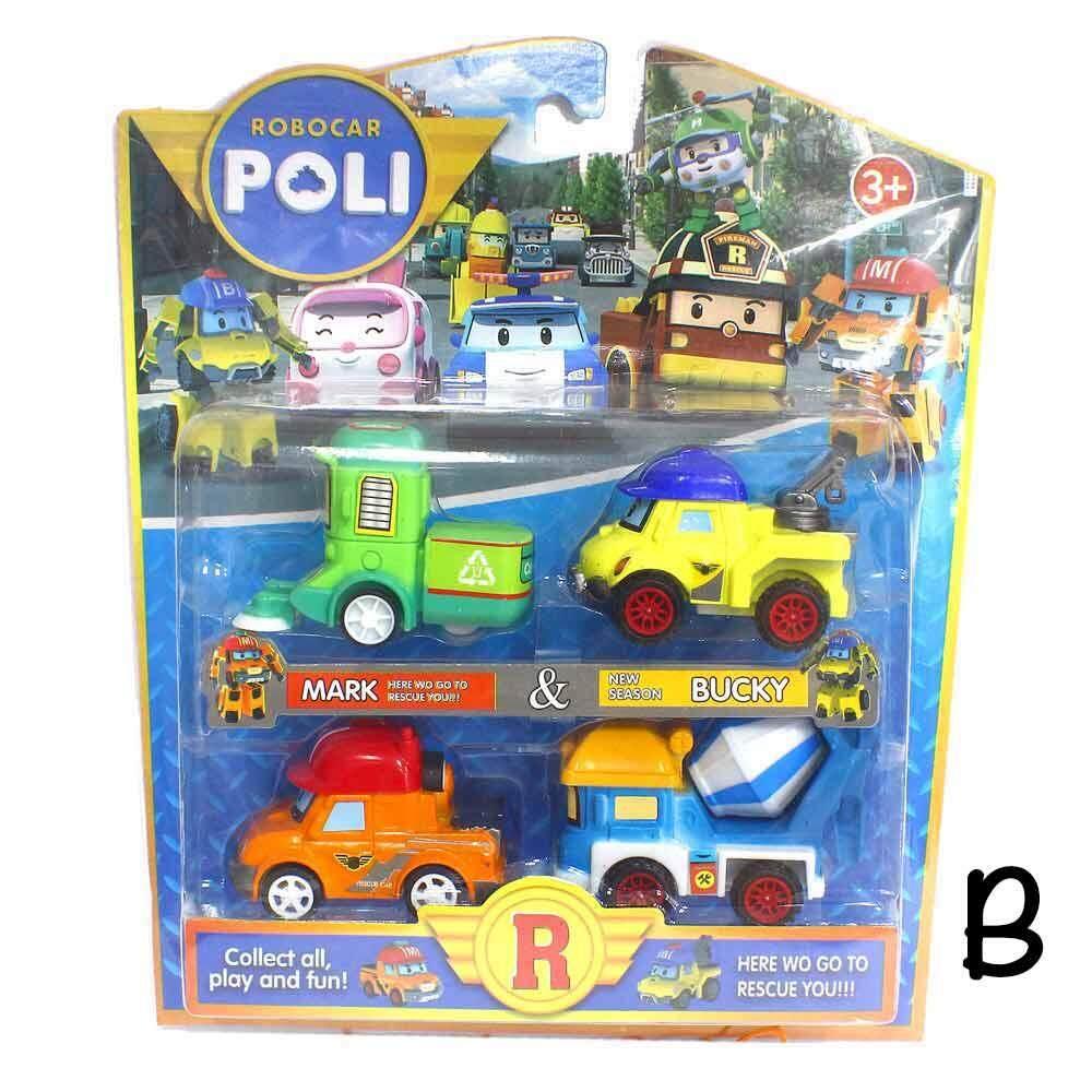 Robocar Poli Toys Games Price In Malaysia Best Mainan 1 Set Lazada