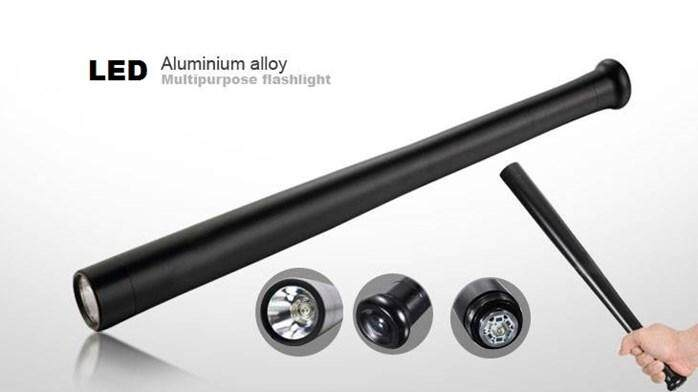 Aluminium Alloy Multipurpose Flashlight - a LEXEON 3W LED bulb that lasts for up to 100 000 hours