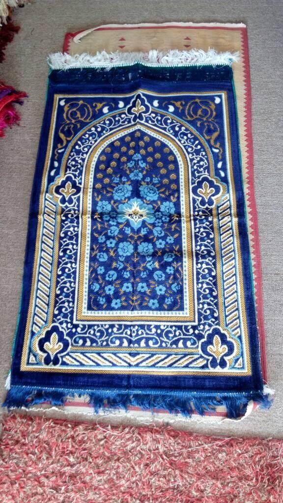 Muslim Prayer Sajadah Carpet Islam Eid Ramadan Gift High Quality Wholesale Price