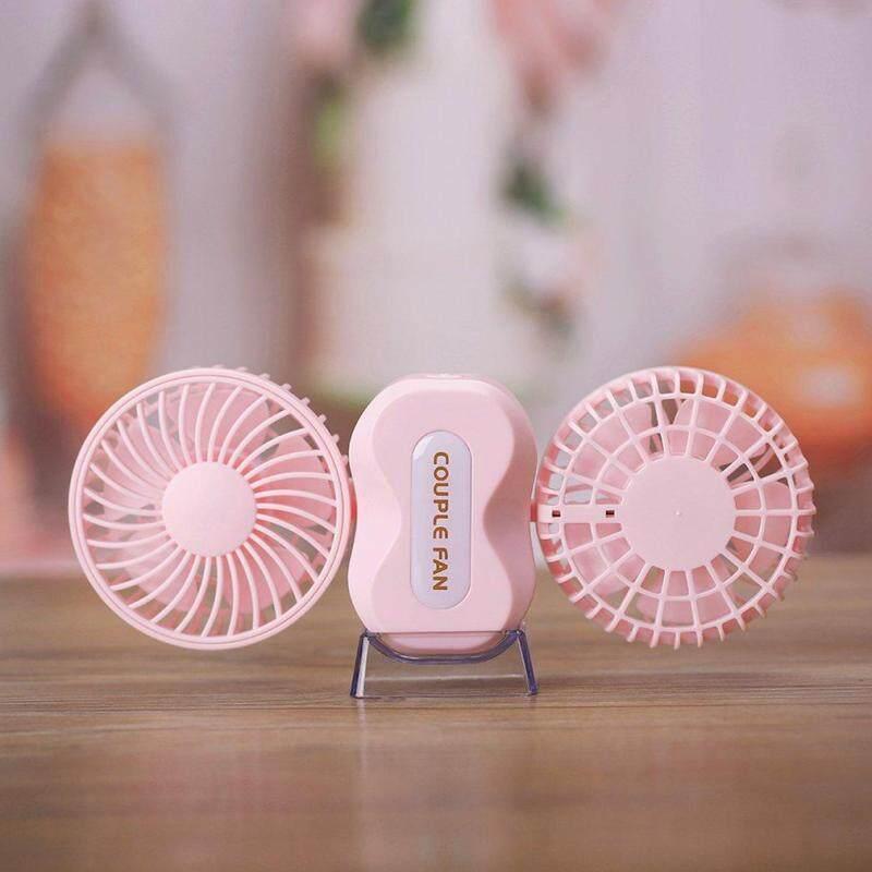 Bảng giá BELLE Portable USB Rechargeable Cooling Fan Adjustable Wind Speed LED Light Fan Phong Vũ