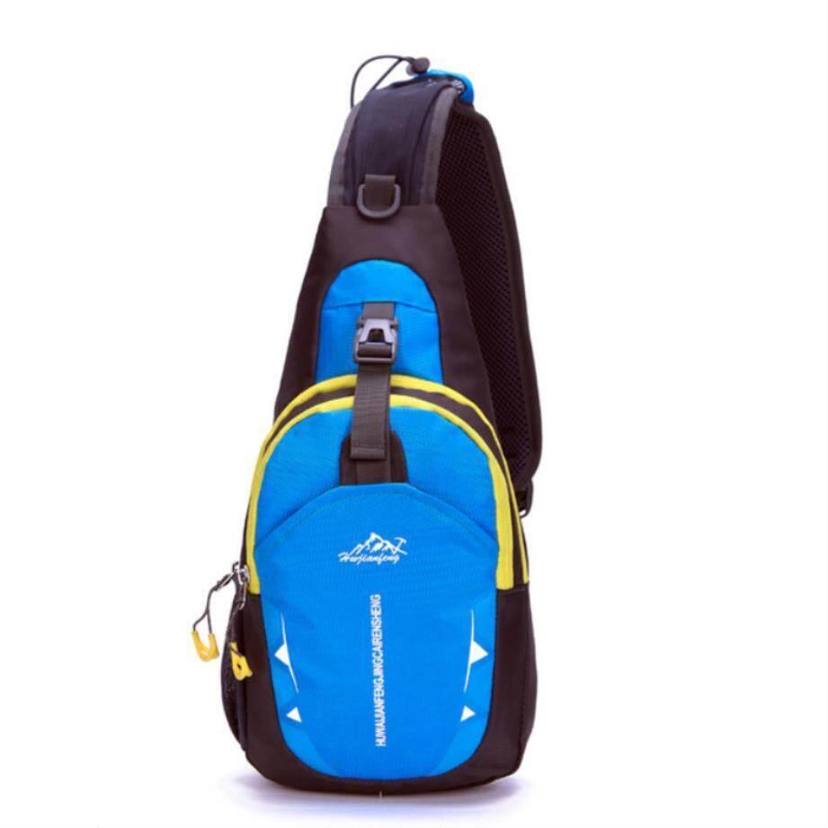 5d7906c556c Shi belNew Nylon Waterproof Man Chest Pack Shoulder Bags Women Chest Pack  Muscle Men Chest Back