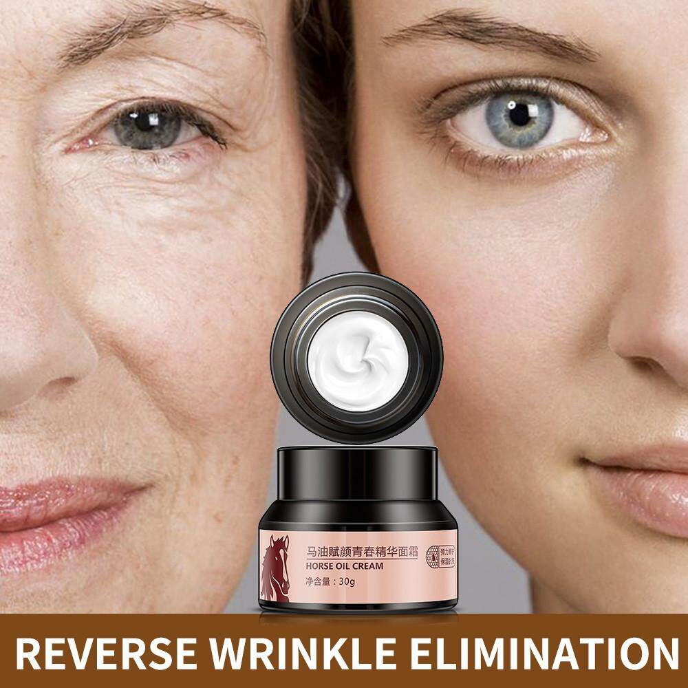 viviMall Horse Oil Effective Freckles Stain Pregnacy Melasma Face Remove Plaque Cream