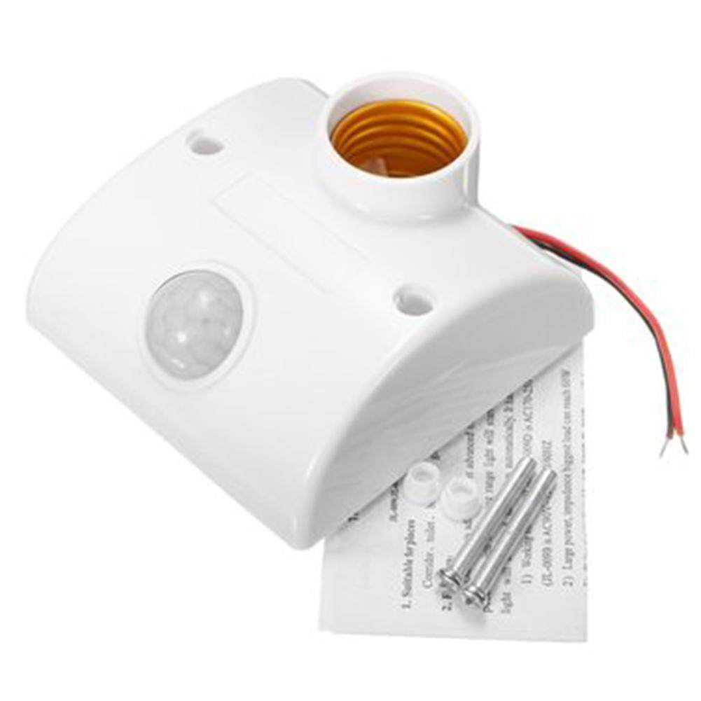 E27 PIR Infrared Motion Sensor LED Light Lamp Holder Control Switch Singapore