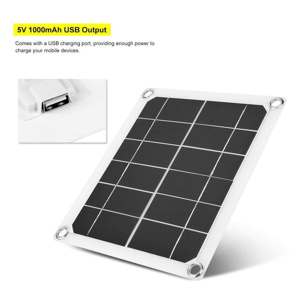 ... Baru Portable IP51 Tahan Air 5 W 1000 MAh Portable Ultra-Tipis Panel Tenaga Surya ...
