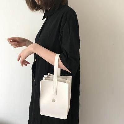 [PRE-ORDER] Women Mini Tote Bag Bucket Portable Clutch Bag Multi Layer Purse Hand Bag