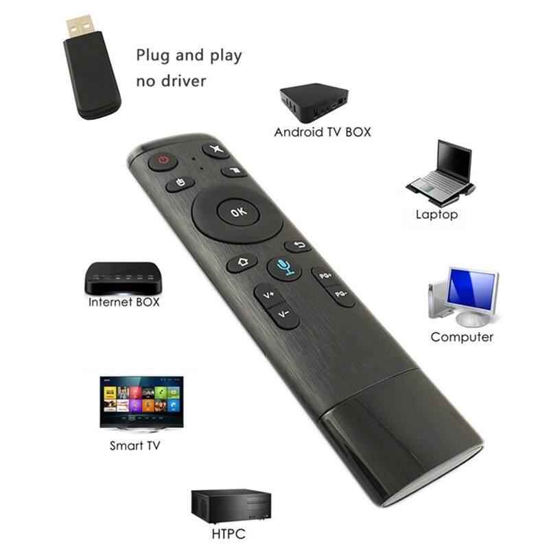 Bàn phím số 5 Bộ điều khiển chuột điều khiển từ xa Fly Air, Điều khiển bằng giọng nói Chuột không dây 2.4G RF Gyro Cảm biến thông minh với Mic cho Android HTPC PC IPTV Smart