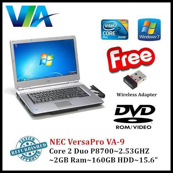 Refurb Nec VersaPro VA-9~C2D~2Gb Ram~160Gb HDD~15.6~Wifi/Nano Malaysia