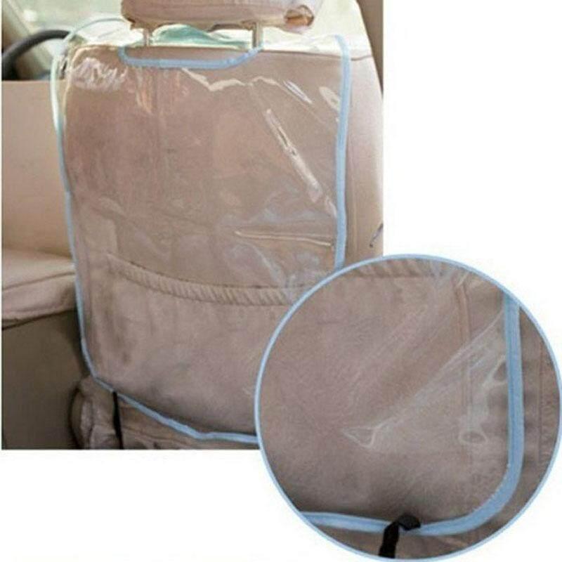 "2 PC Mobil Auto Seat Back Protector Cover Bandung Photo: ""Kick Mat Lumpur Bersih BU-Intl"