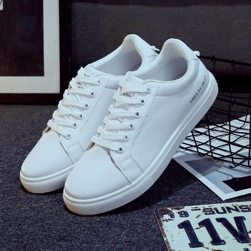 ... Versi Korea dari olahraga kulit mahasiswa pasang sepatu sepatu baru 1983 Source Ailin Pria Korea Fashion