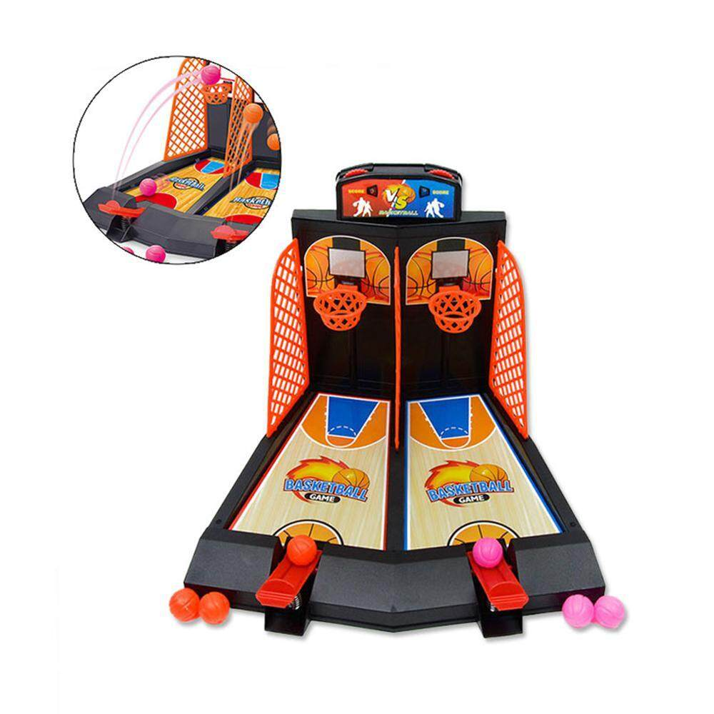 Leegoal Interactive Table Game Two-Finger Ejection Basketball Game Shooting Machine By Leegoal.