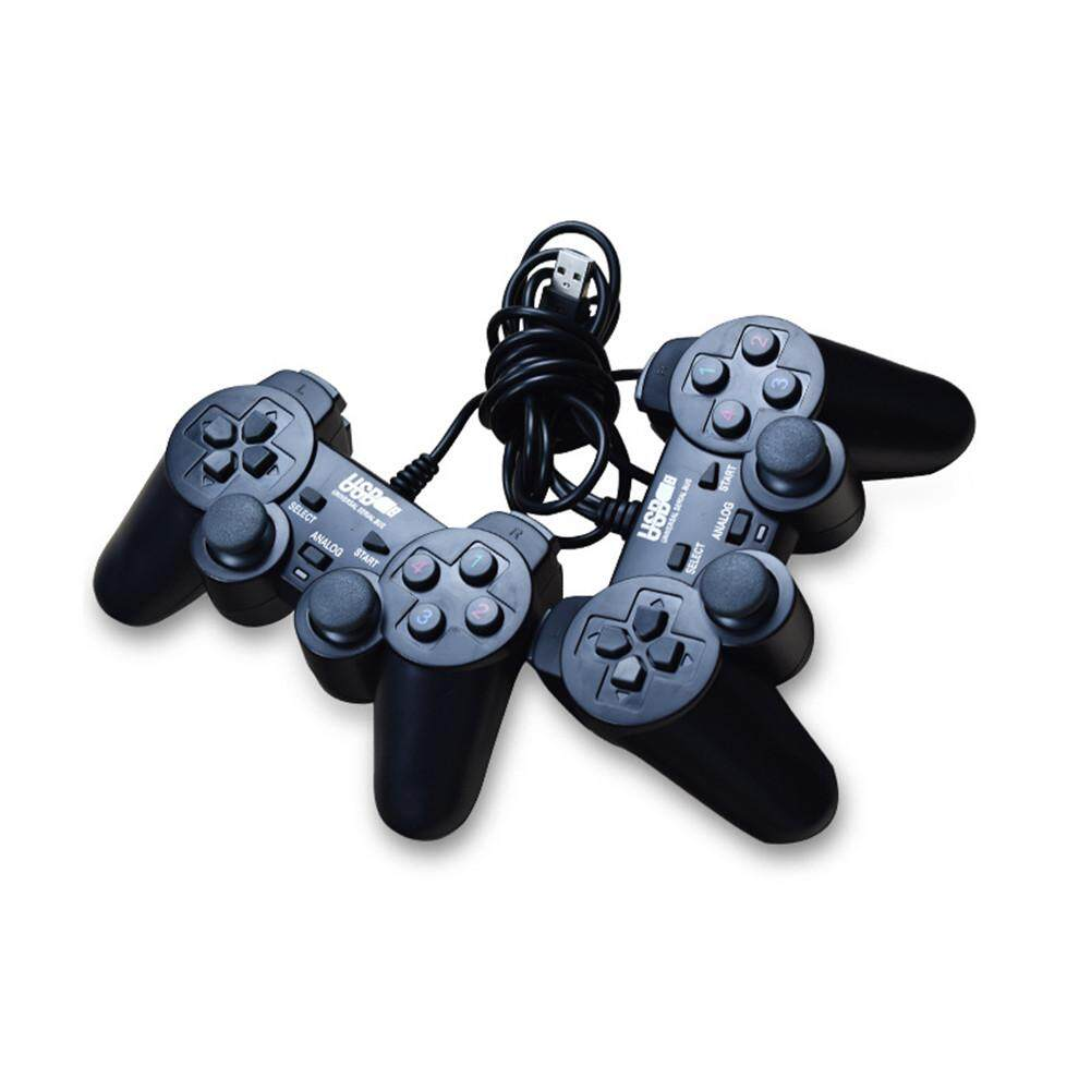 ... Joystick Source · USB Game Controller PC Wired Controller Double Play Double Vibration for Ipad Tablets Computer PC