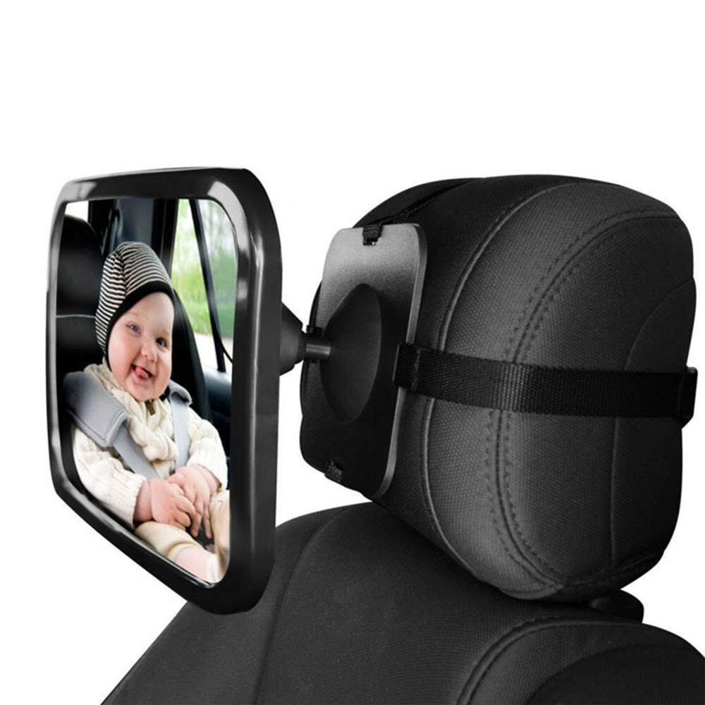 Orzbuy ​baby Car Mirror, Shatter-Proof Acrylic Baby Mirror For Car, Rearview Baby Mirror-Easily To Observe The Babys Every Move, Safety And 360 Degree Adjustability - Intl By Orzbuy.