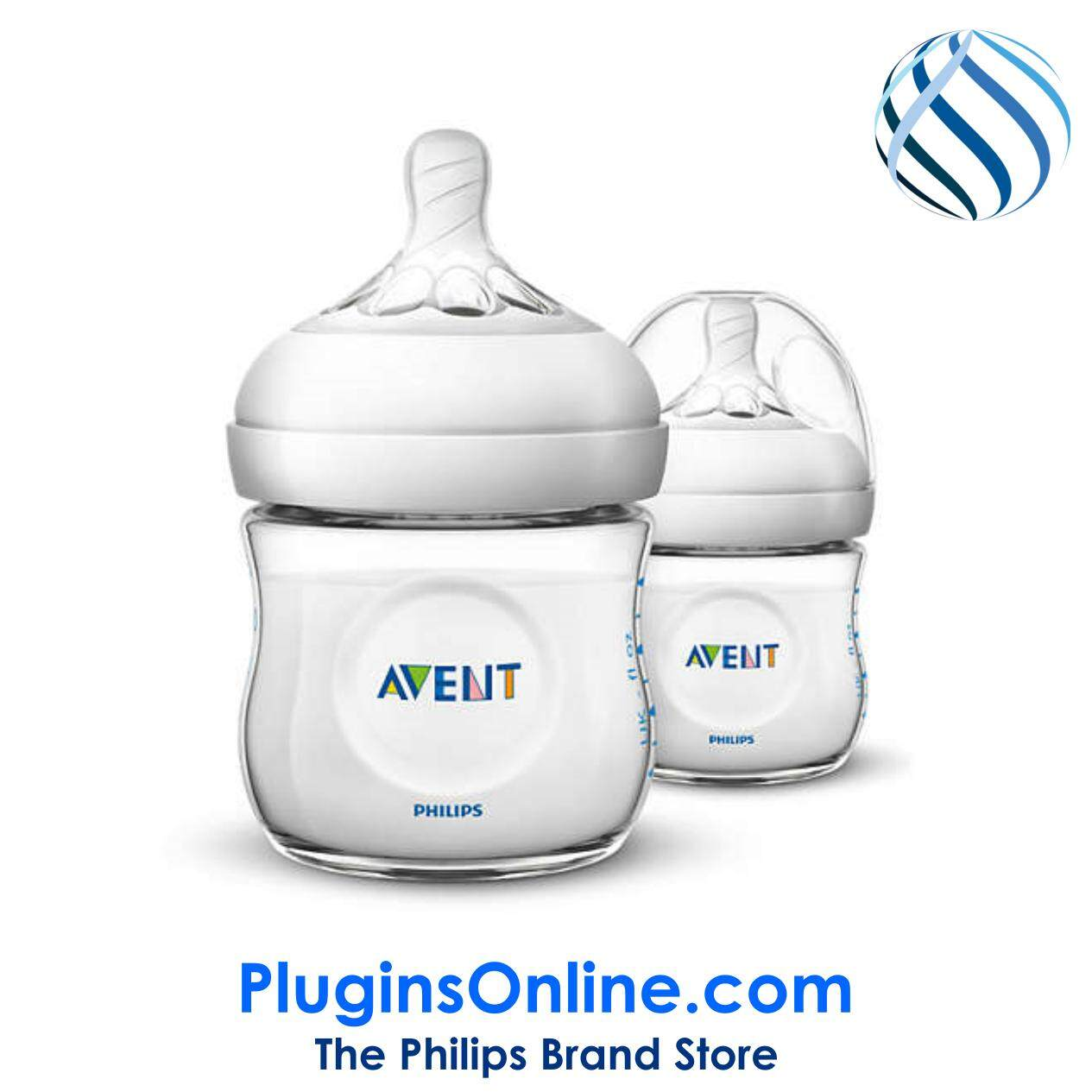 Philips Avent SCF690/23 Natural  Classic+ 125ml (Twin Pack) - Natural  2.0 (Extra Soft Teat)