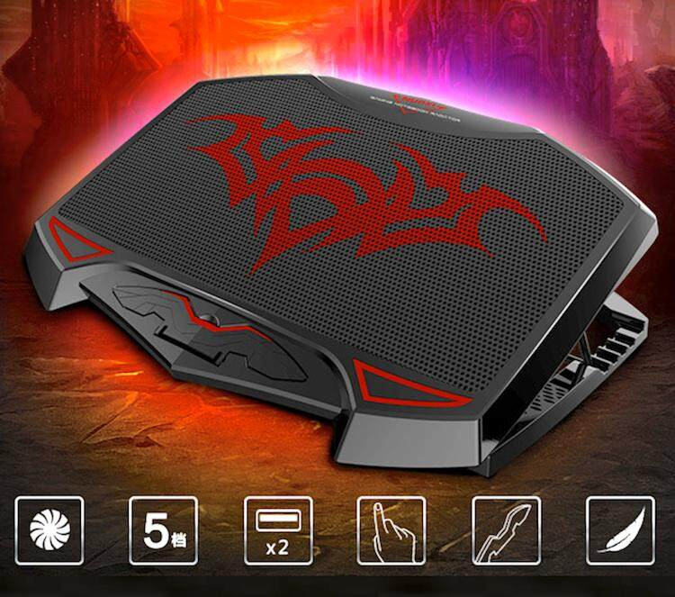 Nuoxi Professional Gaming Laptop Cooling Pad Cooler Malaysia