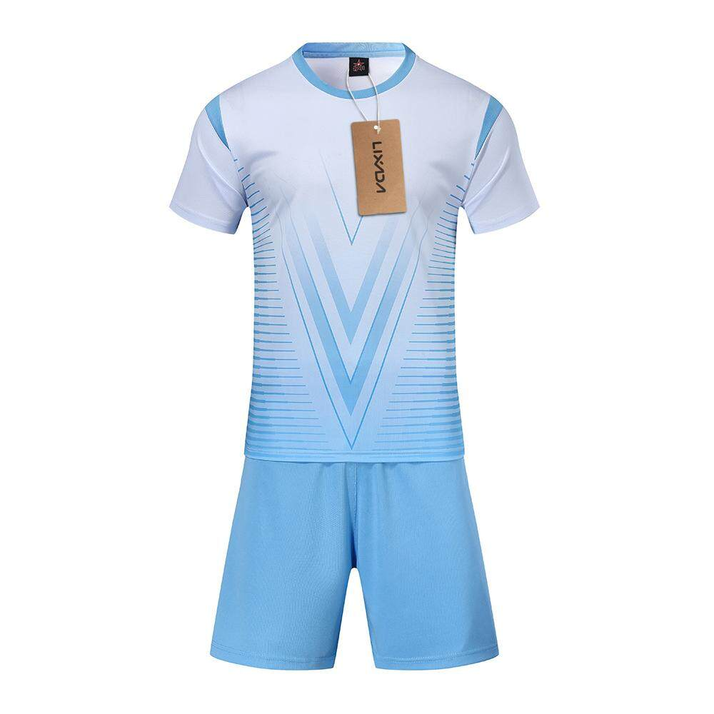 Lixada Professional Soccer Jerseys Set Adult/kids Breathable Soccer Set Soccer Jerseys Uniforms Children Football Kit Shirt Tracksuit By Tomtop.