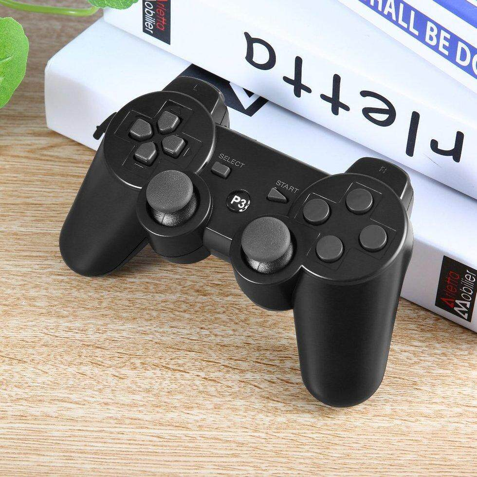 GOFT Classic Gaming Controller Console Gamepad for Playst*tion PS3 black wired