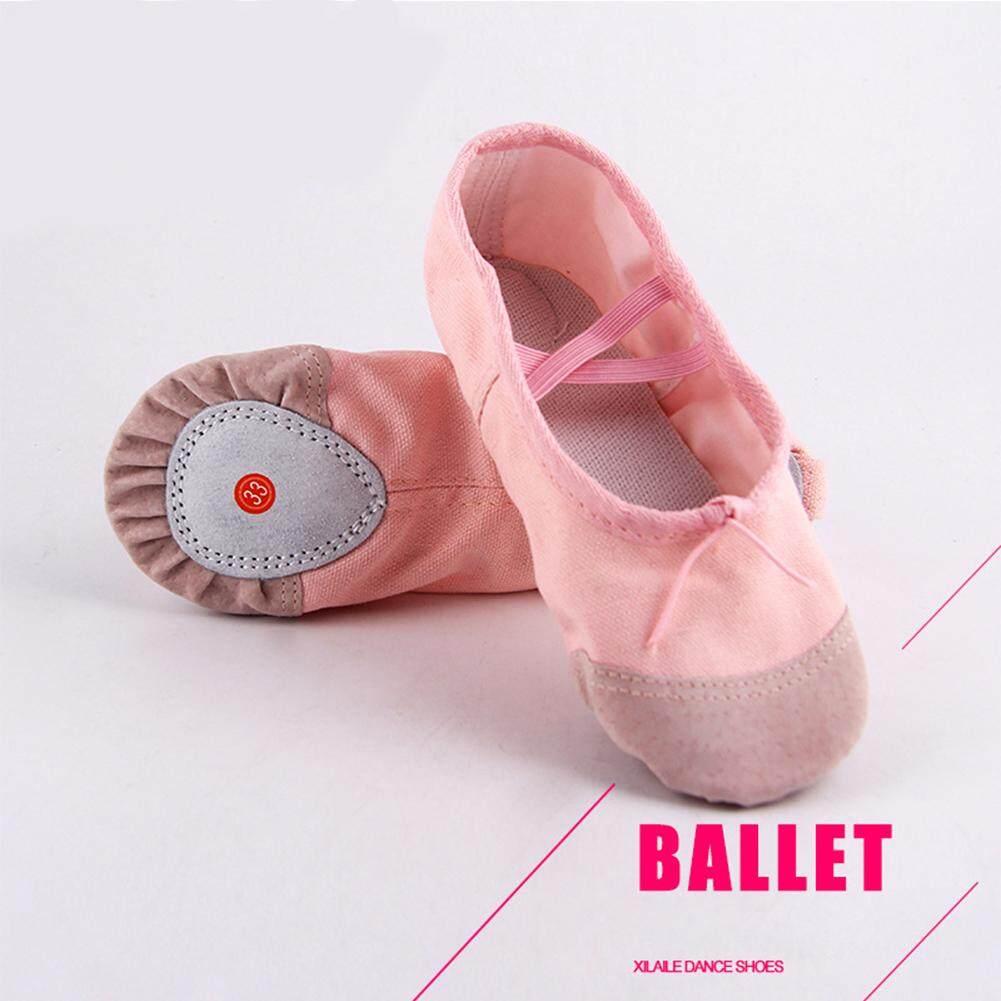 Sepatu Olahraga Anak Perempuan Terbaru Ardiles Kids Rosella Sneakers Biru Navy Bintang Tari Balet Pointe Slip On Lembut Yoga Nyaman Sandal Berongga Untuk