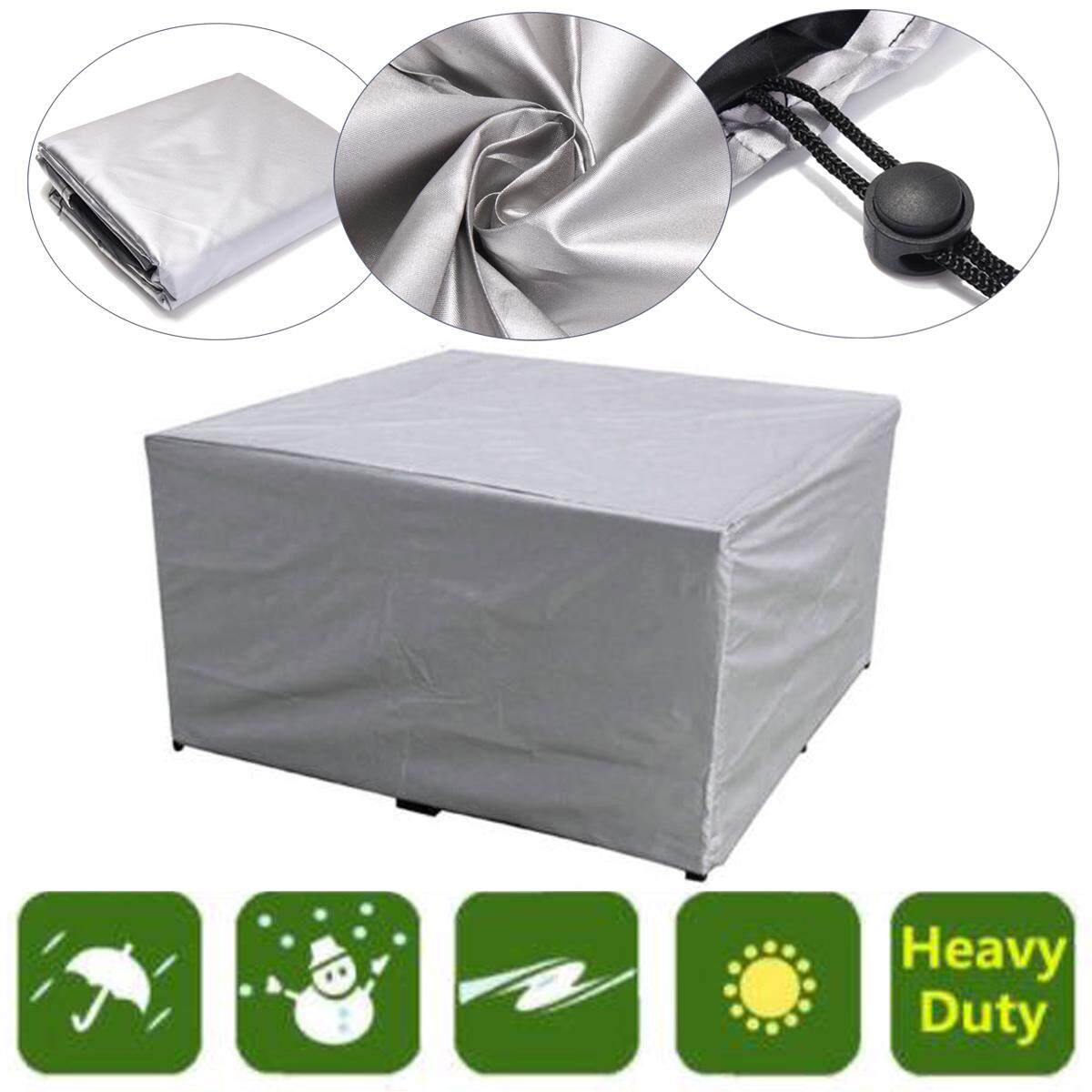 Waterproof Furniture Cover Table Chair Garden Patio Cube Set Outdoor 123x 61x72cm
