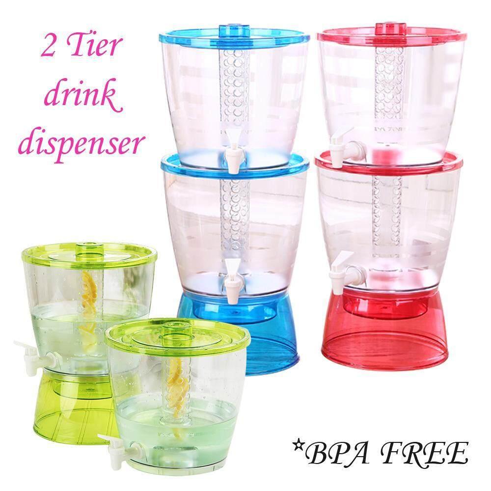 (Ramadan SPECIAL) SOKANO 8309 Double Layer Water Drink Dispenser (13L) Random colour