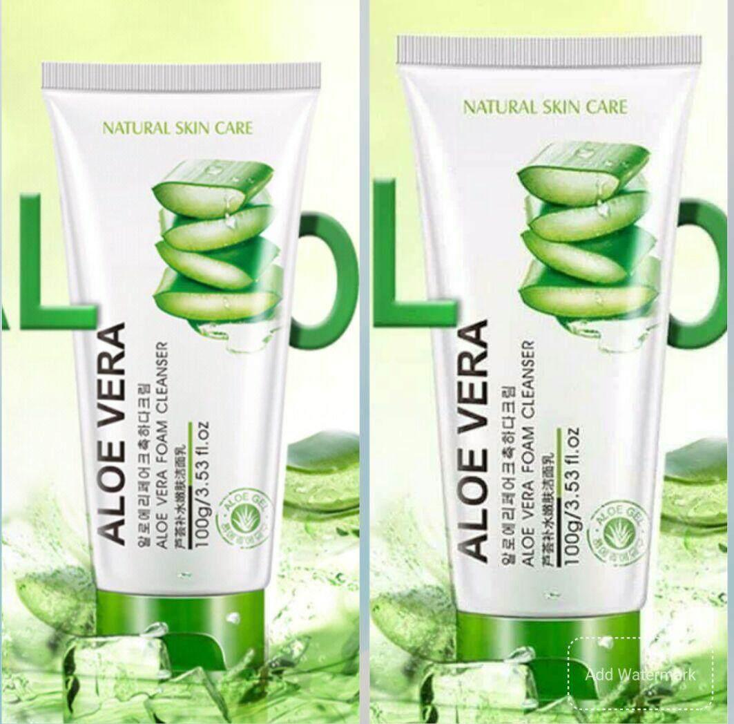Features Bioaqua 5 In 1 92 Aloe Vera Cleansing Moisture Value Aloevera Pack X Cleanser
