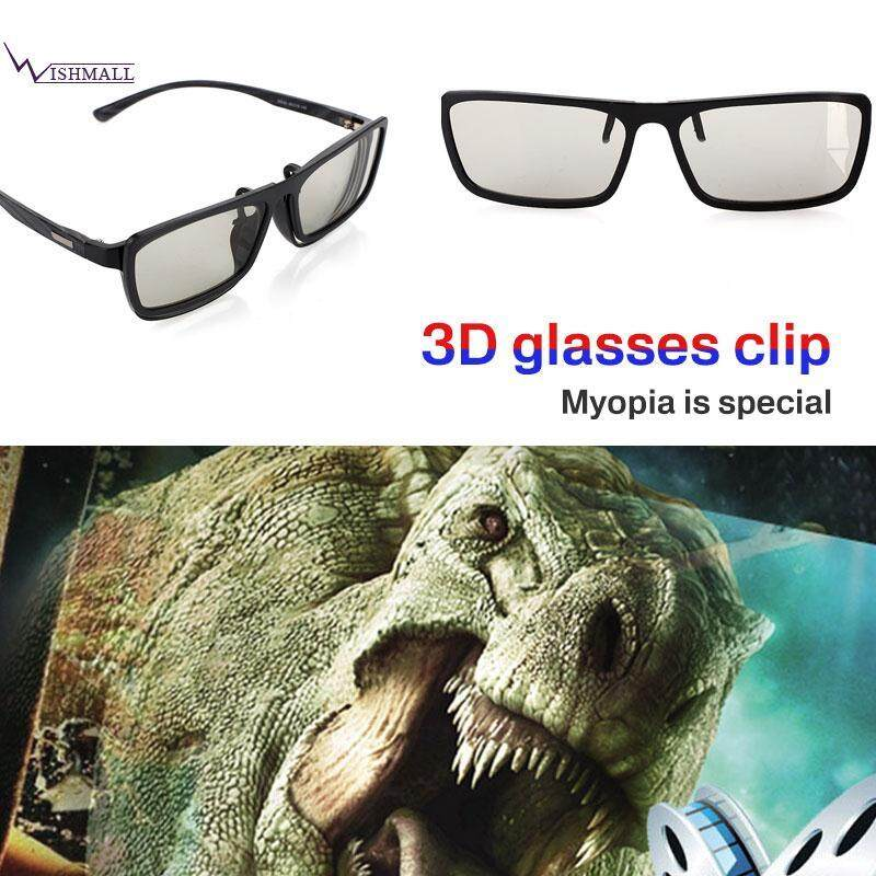 Wishmall 3D Eyeglasses Circular Polarized Glasses 3D Glasses Hanging Clamp  ABS 71ea11277b