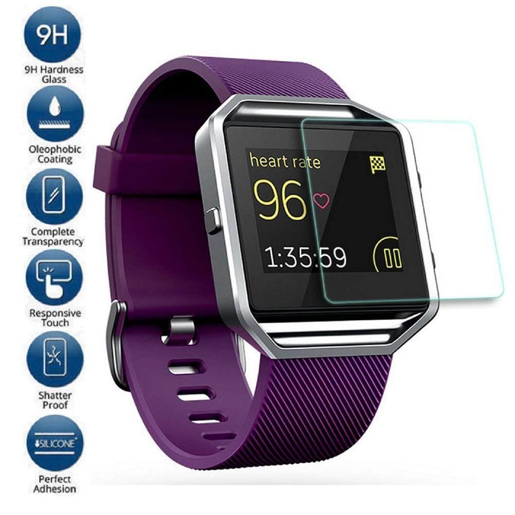 Bestprice-Premium Transparent Tempered Glass Film Screen Protector For Fitbit Blaze - intl