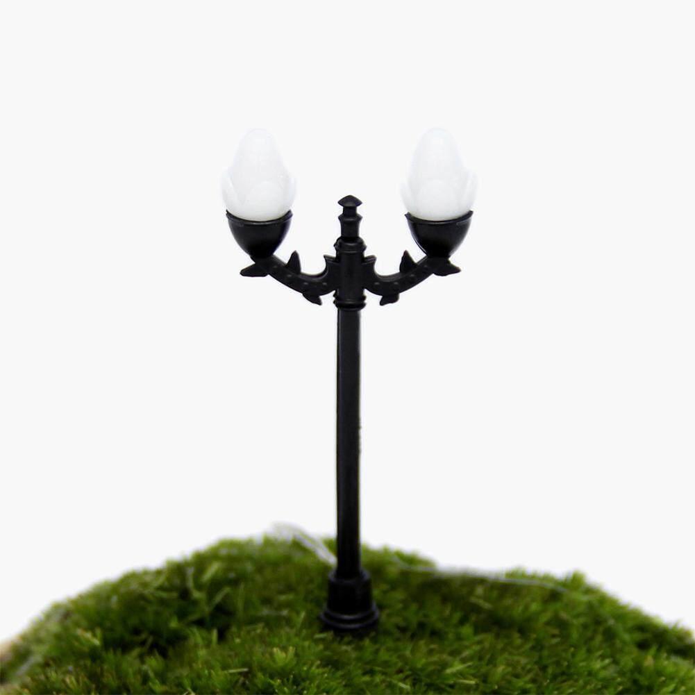 Mensimulasikan Lampu Model Miniatur Taman Ornamen DIY Kerajinan Rumah Boneka Pot Bunga Dekorasi Spesifikasi: B Bagian Sa Yanyi-Internasional