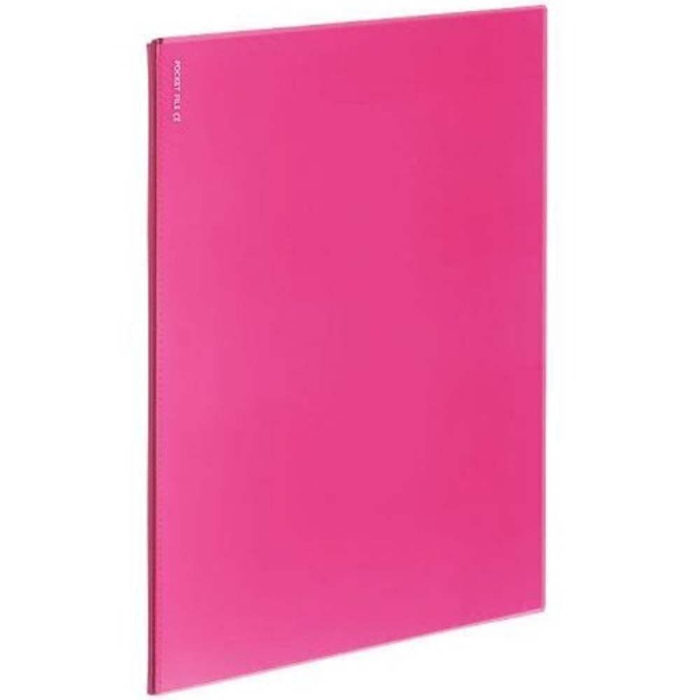 Kokuyo Novita Alpha 12 Pocket Refill - Pink