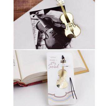 Khuyến mãi mới Metal Bookmark Musial Piano Guitar Bookmark for Book Creative Gift Stationery - intl flash sale - Giá chỉ 30.786đ