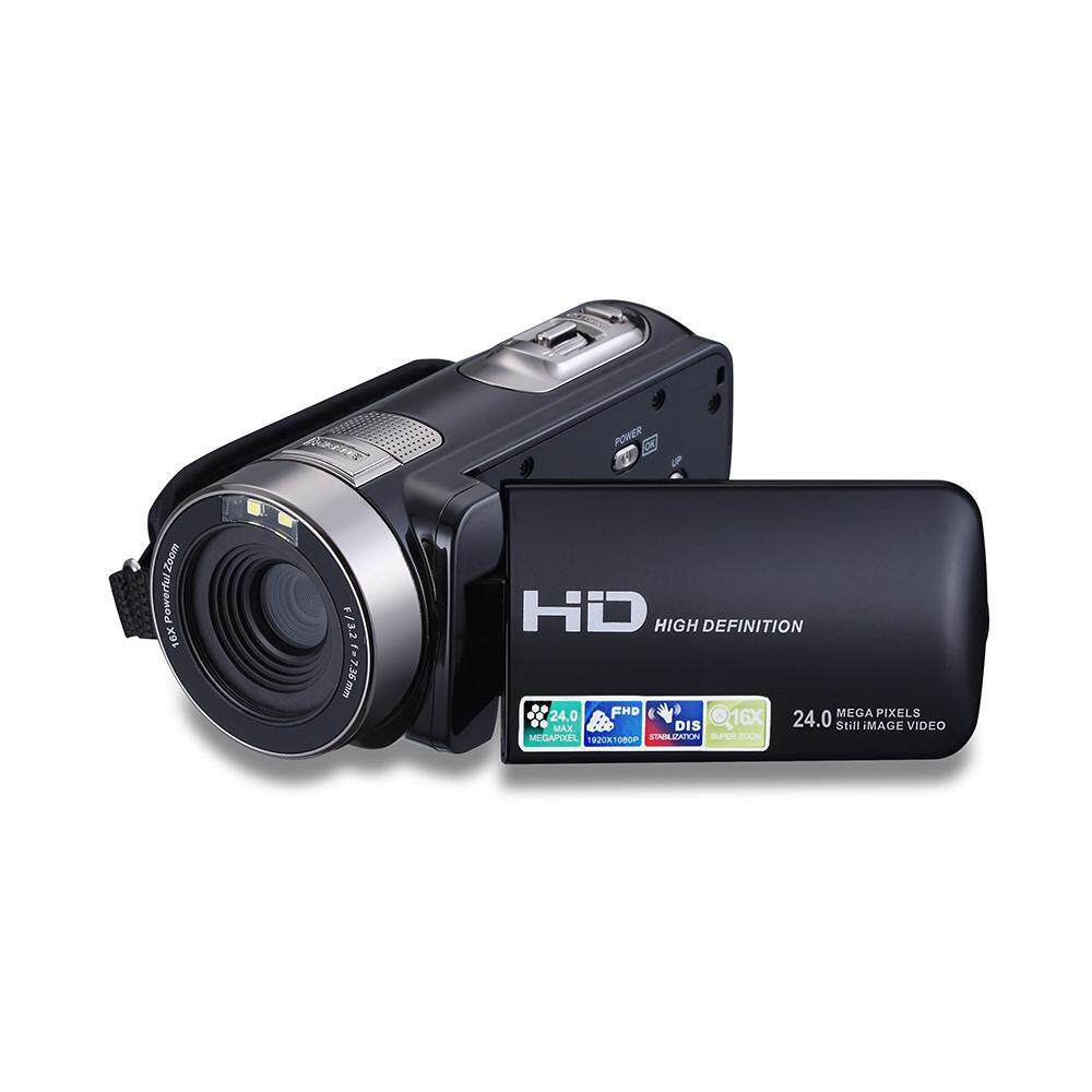 Queo 1080 P Digital Video Camcorder 16X Zoom 3.0
