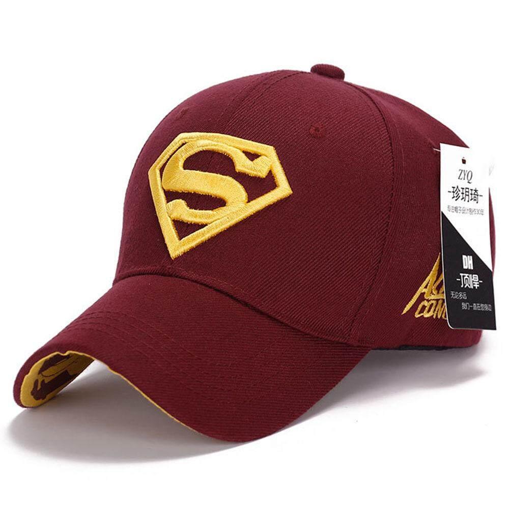 Topi Superman Bisbol Steampunk Film Topi Berenda-Intl