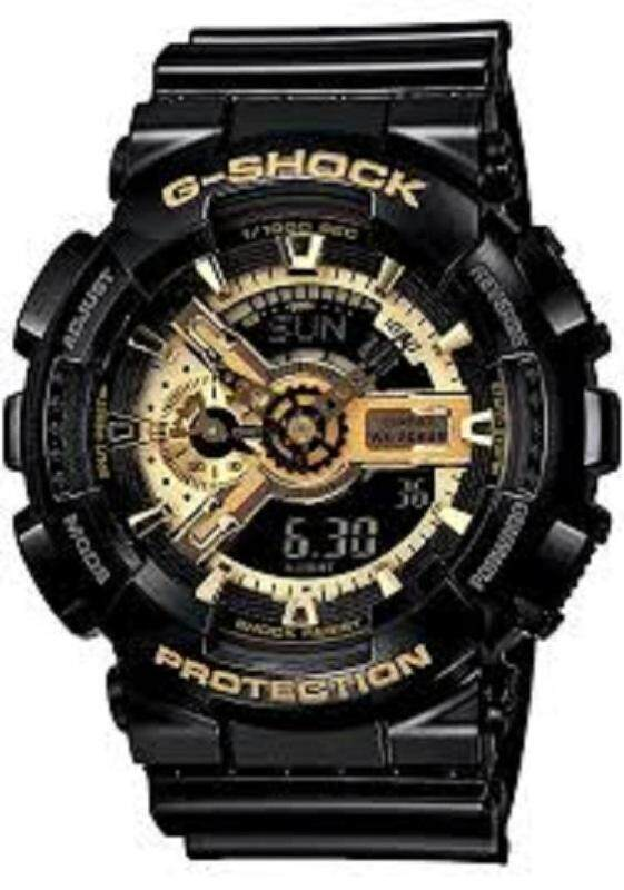 Casio G Shock Black Gold Mens Watch Malaysia