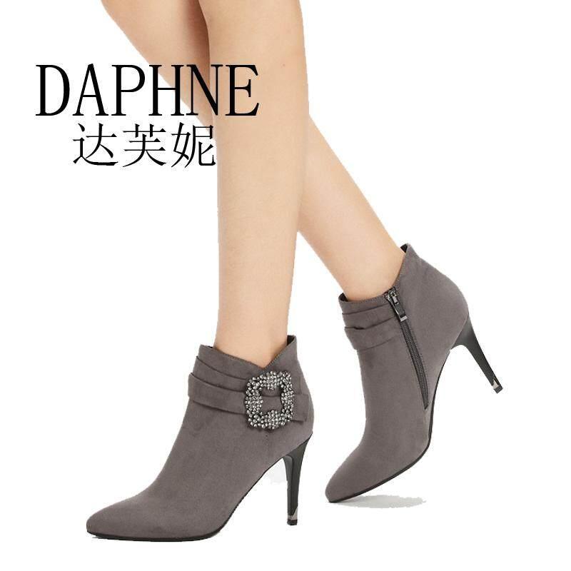 Daphne Daphne Rak konter khusus Produk Asli musim gugur musim dingin modis  tumit tinggi resleting fa0a97198a