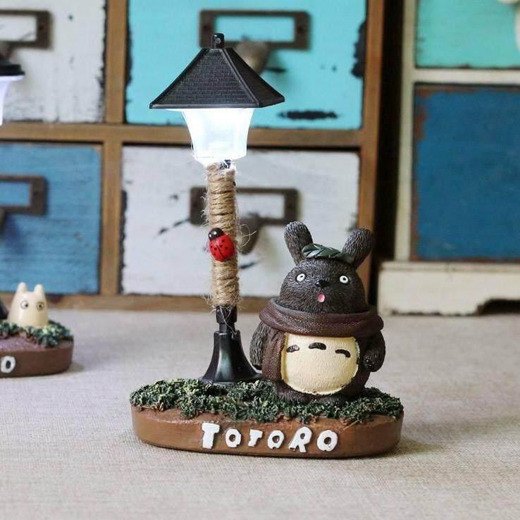 Totoro Night Lamp 2(Brown)