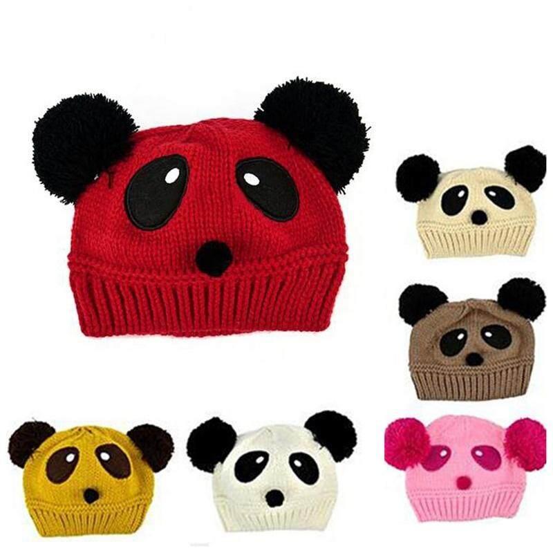 Dimana Beli Laki laki Perempuan Anak anak Wol Hangat Musim Dingin Source · Bayi Perempuan Lucu Anak Rajutan Hangat Musim Dingin Crochet Topi Panda Intl 2