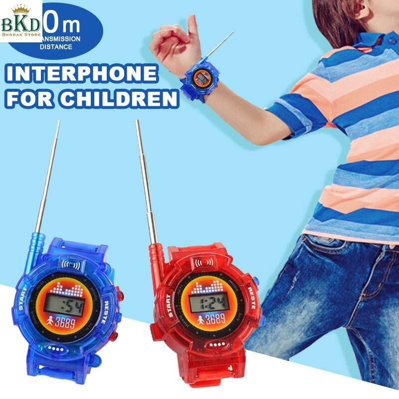 Hình ảnh Bkodak Store Watches 1 Pair Interphone Toy Two Way Radio Toy Walkie Talkie Toy
