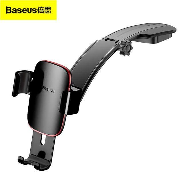 Baseus Metal Car Holder For iPhone Samsung Mobile Phone Holder Stand Gravity Air Vent Mount GPS Car Phone Holder Bracket