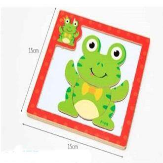 ATTRACTIVE WOODEN GAMES MAGNETIC PUZZLE