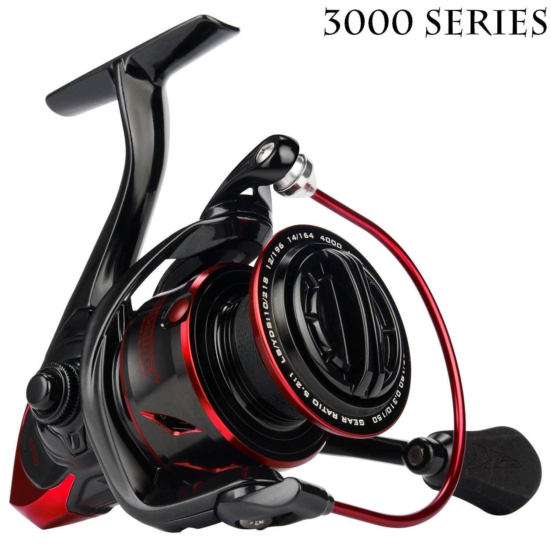 KastKing Sharky III Fishing Reel Spinning Carbon Fiber 395 LBs Max Drag 10 1