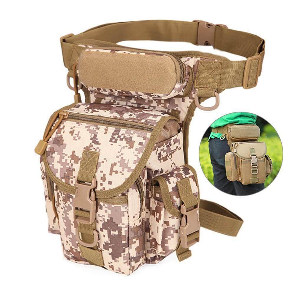 GoodGreat Drop Leg Bag Tactical - Thigh Pack Motorcycle Waist Leg Pouch - Military Hip Bum