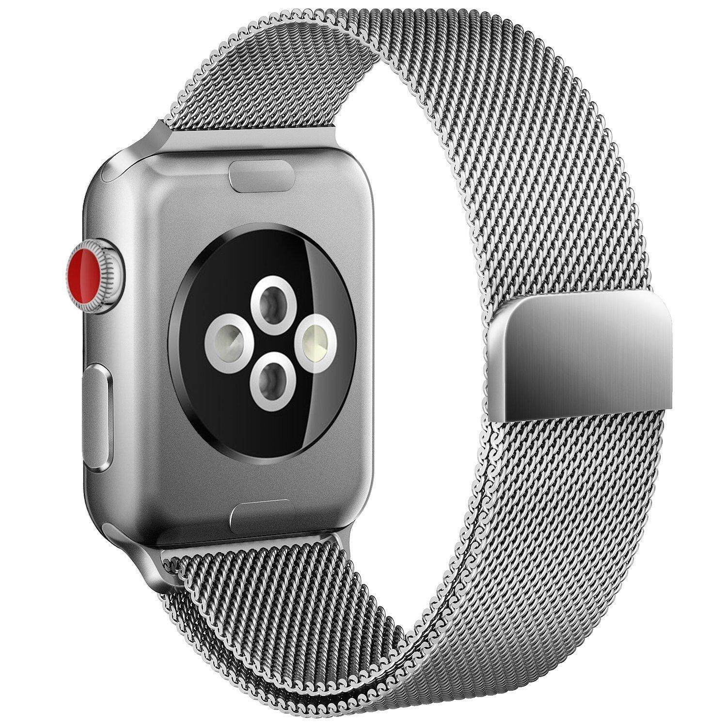 Compatible Bands For Apple Watch Series 4 3 2 1 All Models, Loop Sport Straps With Magnetic Closure For Iwatch Band 38mm 40mm 42mm 44mm By Evertoner.