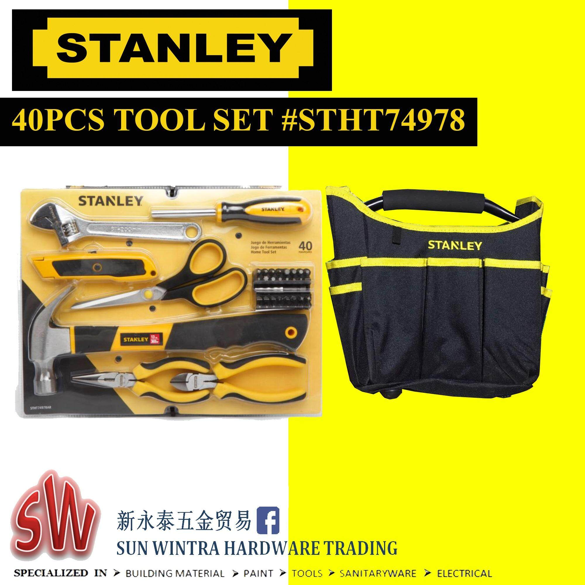 Tool Set General 25pcs Stanley 92 006 Stht74981hand Daftar Update Harga Terbaru Indonesia Source 40pcs Home With